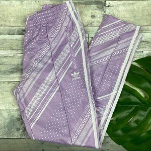 Adidas 3 striped maubri pants medium purple